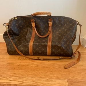 Louis Vuitton Boston Bag Keepall Bandouliere 50